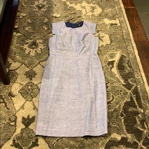 J Crew Dresses Nwot Jcrew Resume Dress In Stretch Linen Poshmark